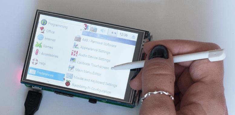 Calibração Touchscreen