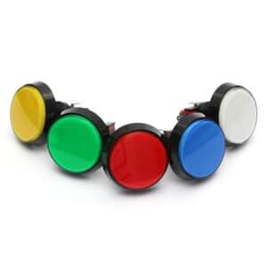 Botão Arcade Fliperama Iluminado
