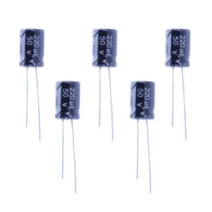 Capacitor Eletrolítico 220µF 50v
