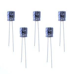Capacitor Eletrolitico 220µF