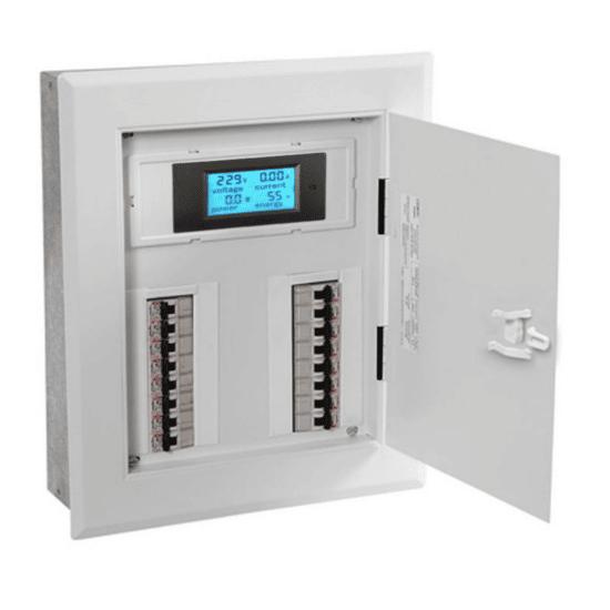 Medidor de corrente e tensão 100A