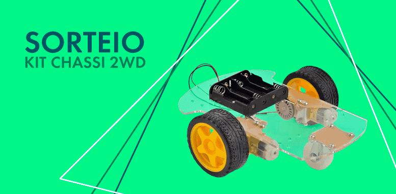 Kits Chassi 2WD Robô