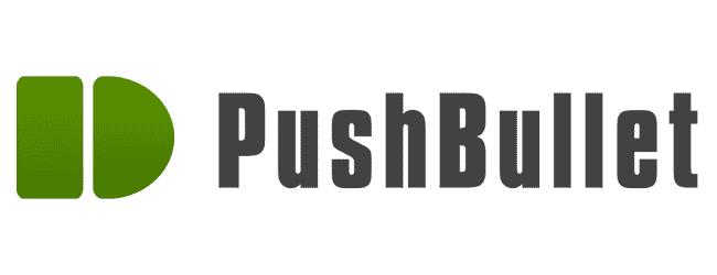 Figura 1 - logo do Pushbullet