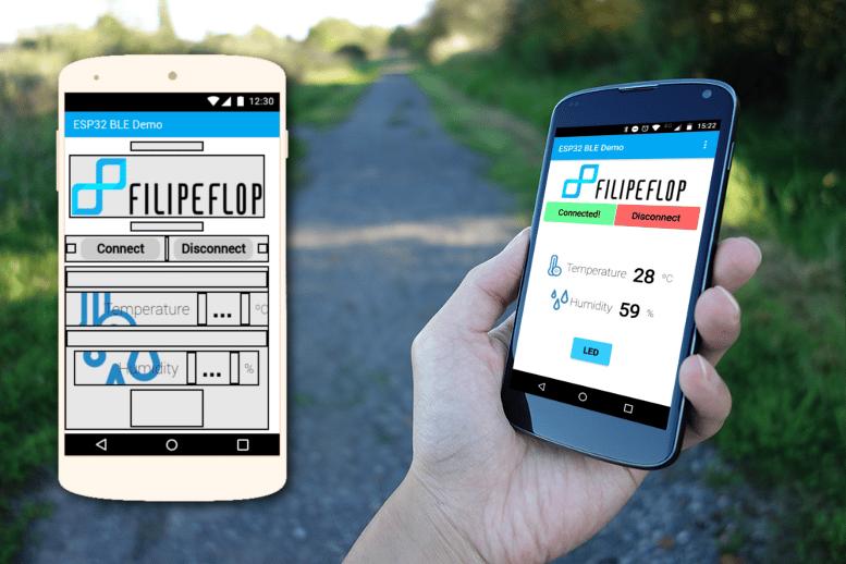 Design da tela do aplicativo