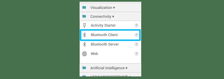 Componente Bluetooth Client